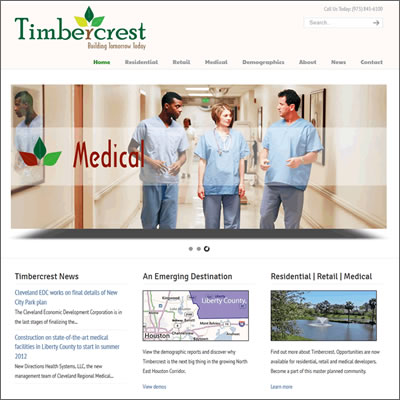 Timbercrest Website